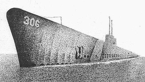 Moss Dan. Подлодка Tang (SSN 306).