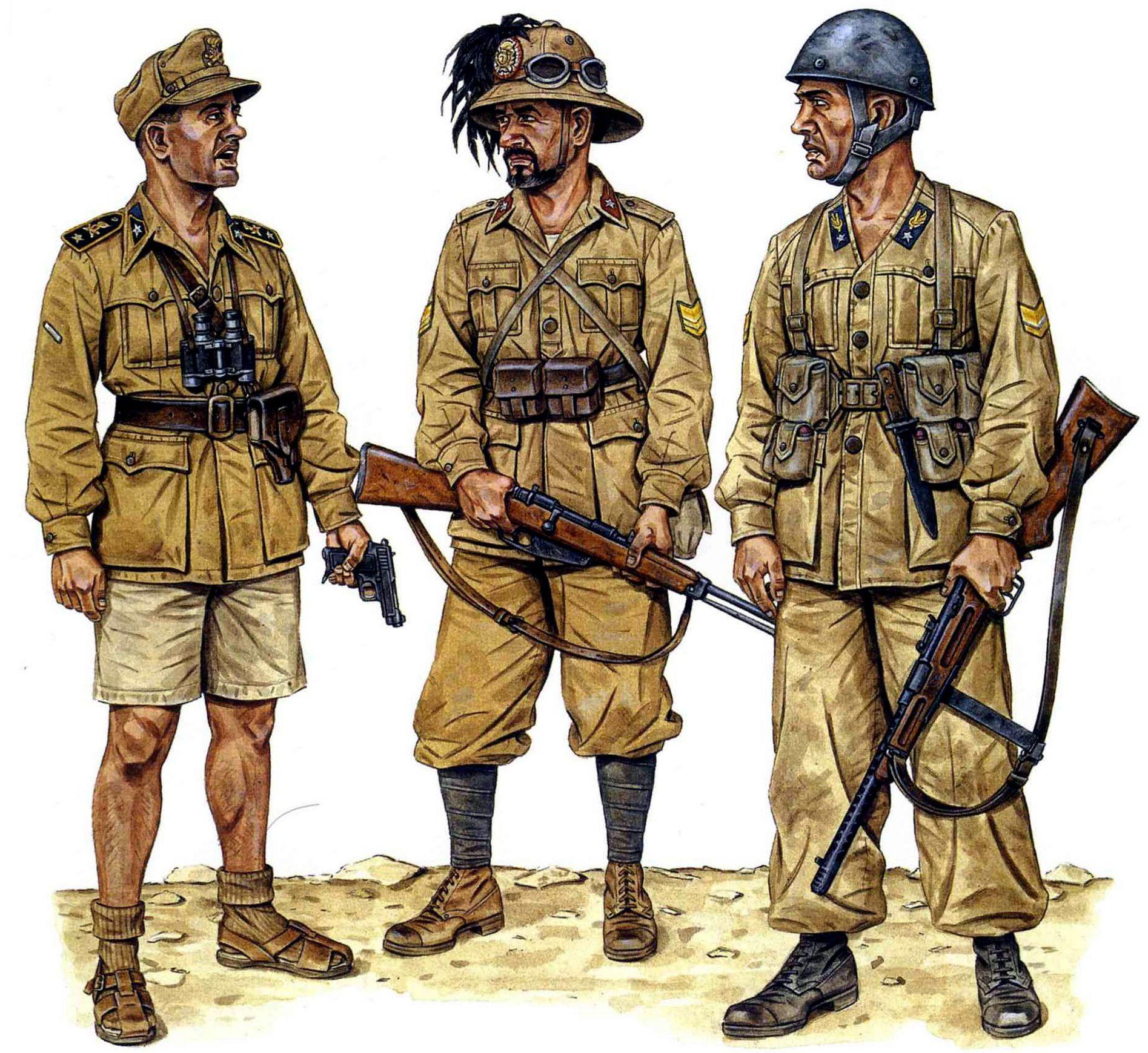 Stephen Andrew. Итальянские пехотинцы.