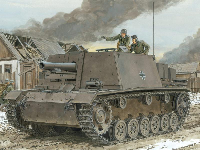 Volstad Ronald. САУ 15-cm sIG 33 (Bison II).