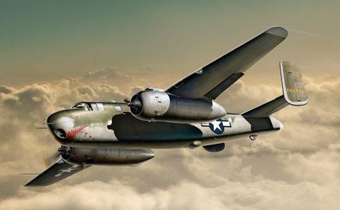 Auletta Vincenzo. Бомбардировщик B-25G Mitchell.