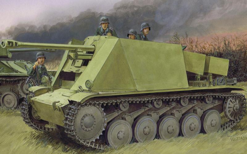 Volstad Ronald. САУ 5-cm Pak 38.