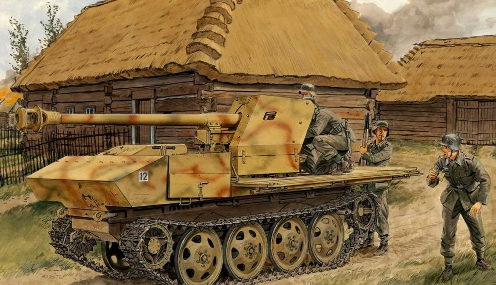 Volstad Ronald. САУ 7.5-cm Pak 40.