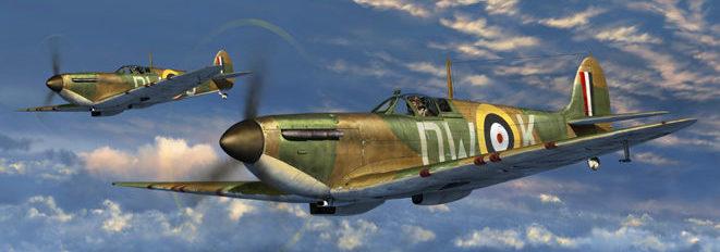 Waki Matthew. Истребители Spitfire.