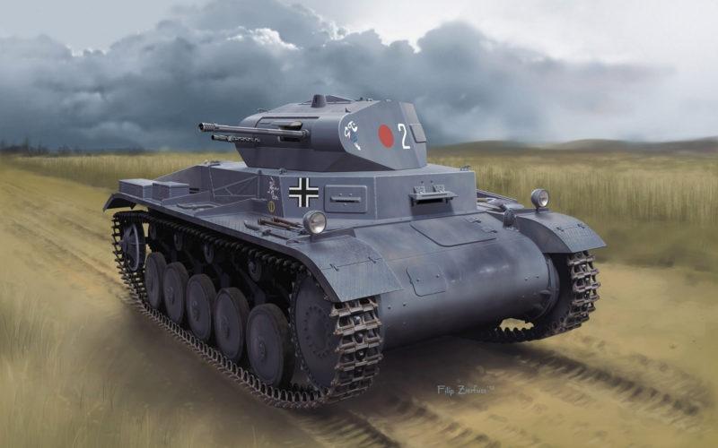Zierfuss Filip. Легкий танк Pz.Kpfw.II Ausf.A.