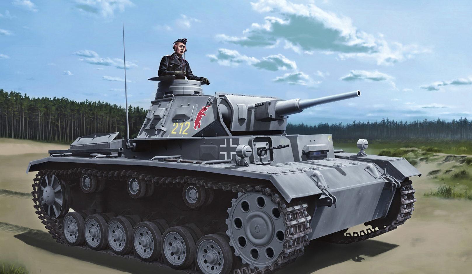 Zierfuss Filip. Танк Pz.Kpfw.III (5cm) (T) Ausf.G.