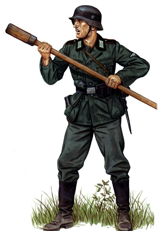 Stephen Andrew. Артиллерист.