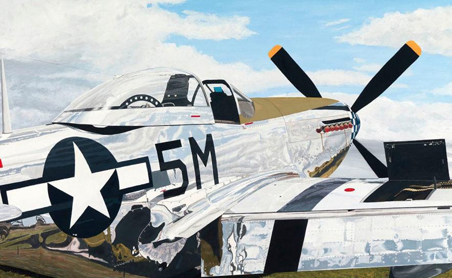 Lyons Sam. Истребитель Р-51 D Mustang.