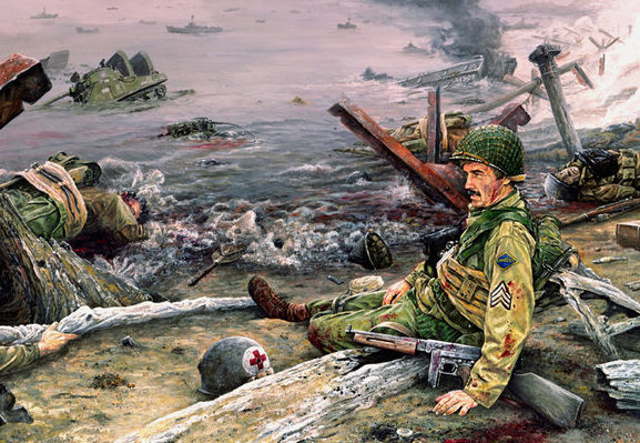 Williams John. Высадка десанта в Нормандии.