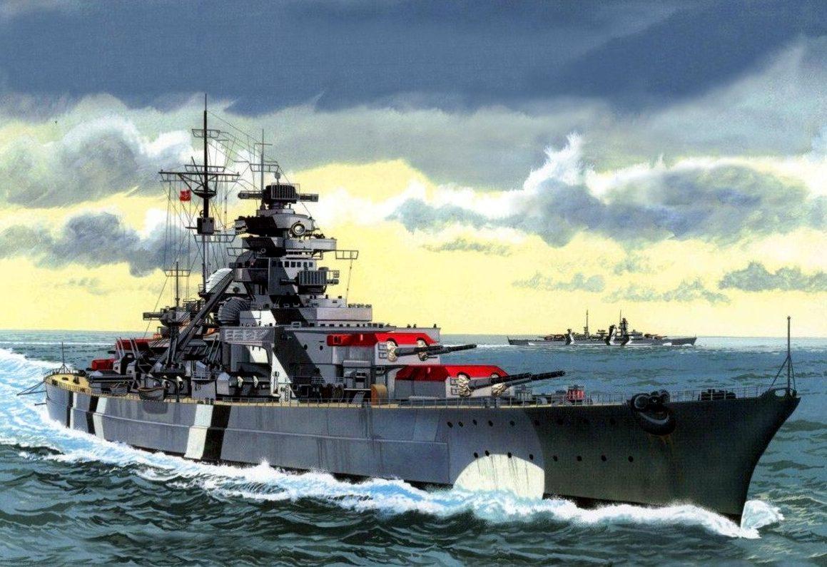 Greer Don. Линкор «Bismarck».