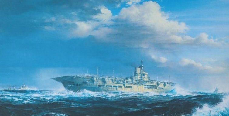Wood Brian. Авианосец Ark Royal.