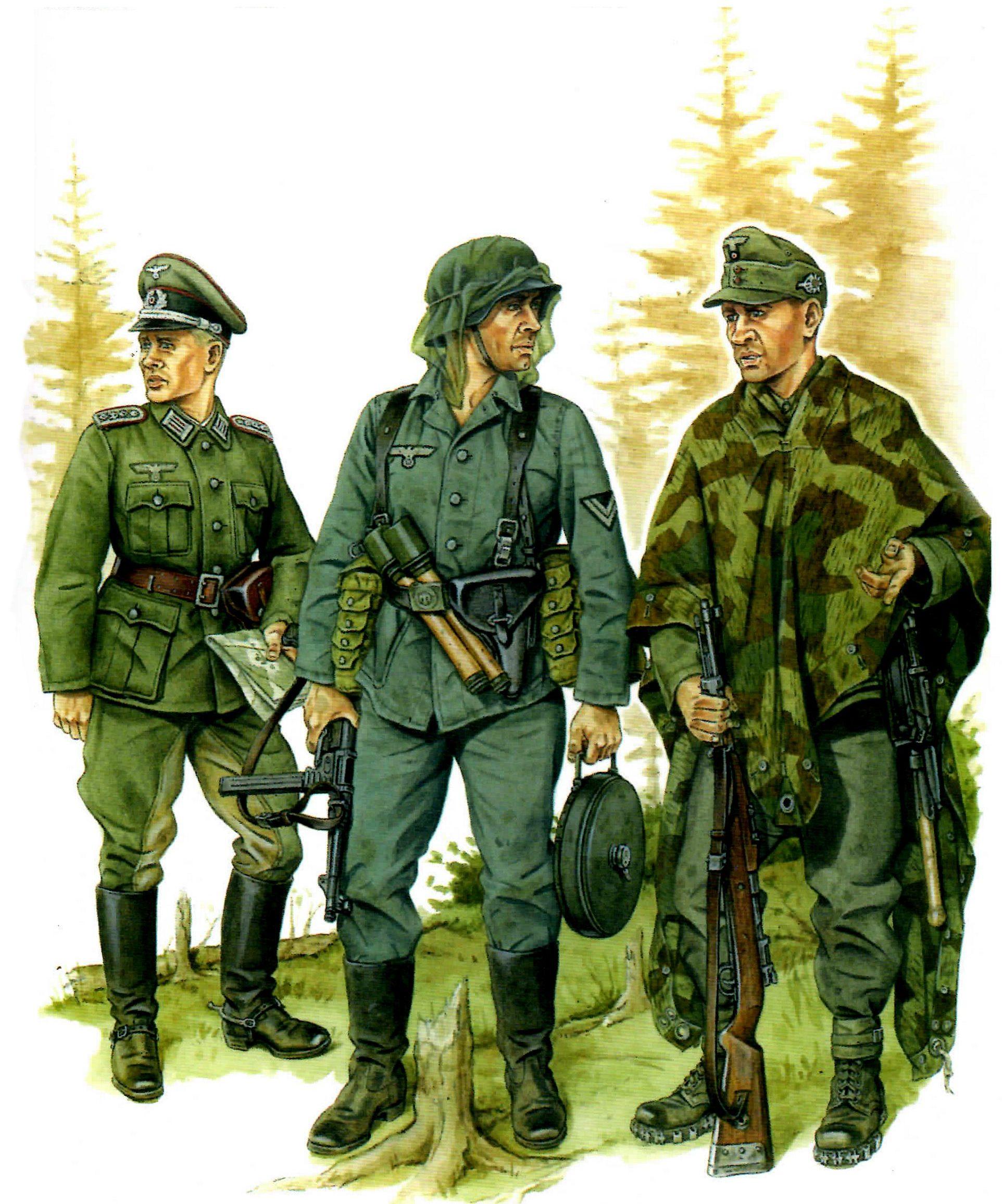 Stephen Andrew. Немецкие солдаты.