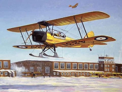 Connolly Don. Учебные самолеты.