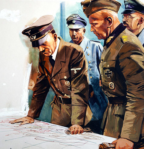 Wood Gerry. Вторжение. Планы Гитлера.