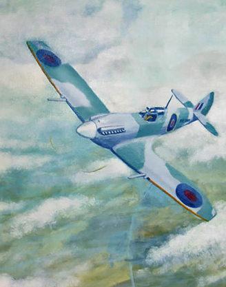 Driver Chris. Истребитель Spitfire.