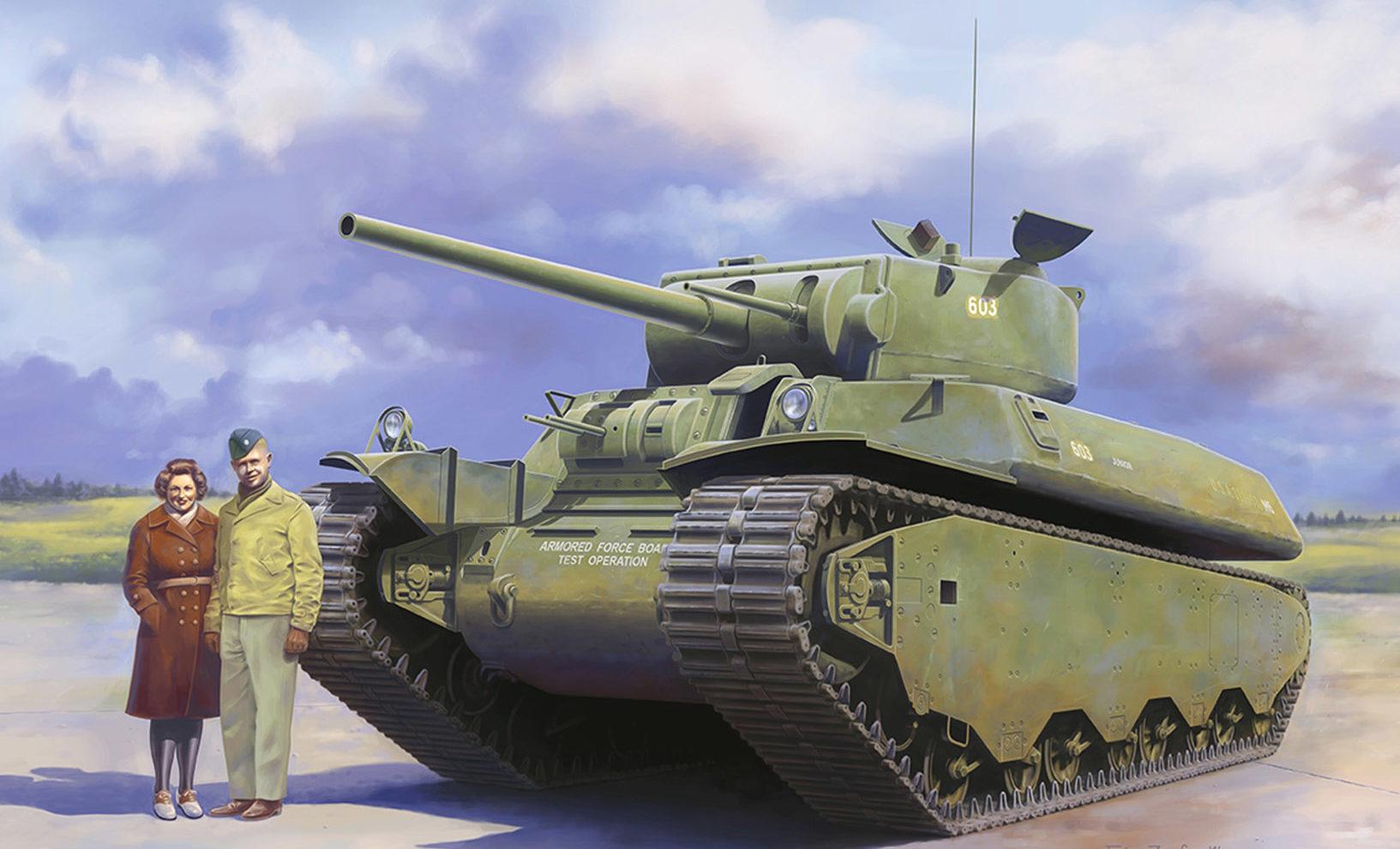 Zierfuss Filip. Танк М-6.