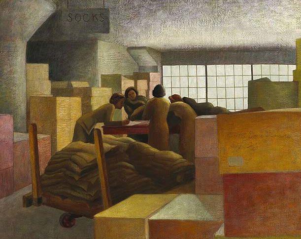 Duncan Alma. Женщины на военном складе.