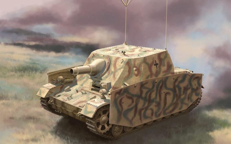 Zierfuss Filip. САУ Sturmpanzer Ausf.I als Befehlspanzer.