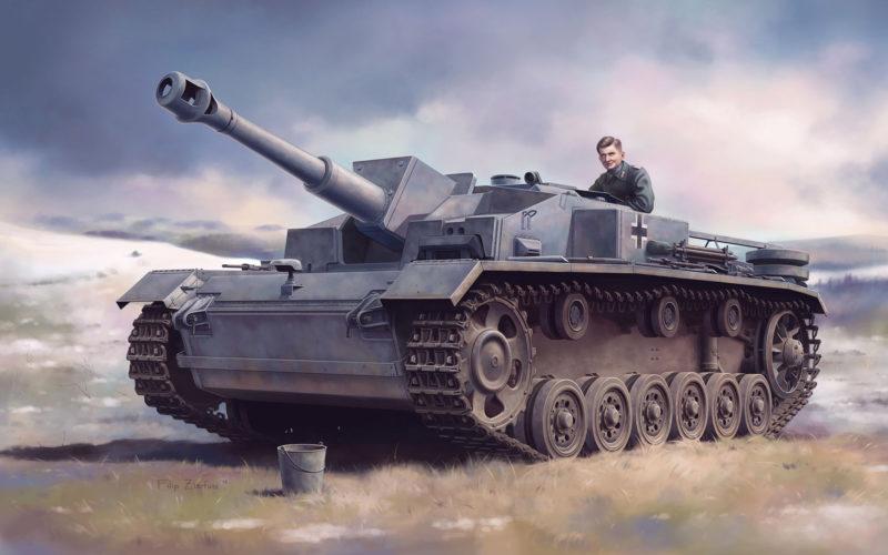 Zierfuss Filip. САУ 10,5 cm StuH. 42 Ausf. E/F.