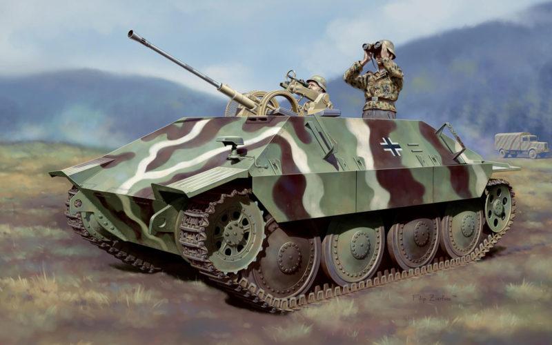 Zierfuss Filip. ЗСУ Flak 38.