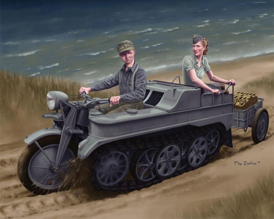 Zierfuss Filip. Военный транспорт.
