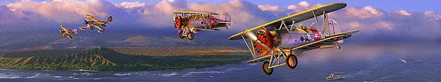 Zoernig Dan. Истребители Boeing F4B-4.
