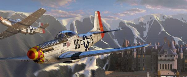 Zoernig Dan. Полет в Альпах.