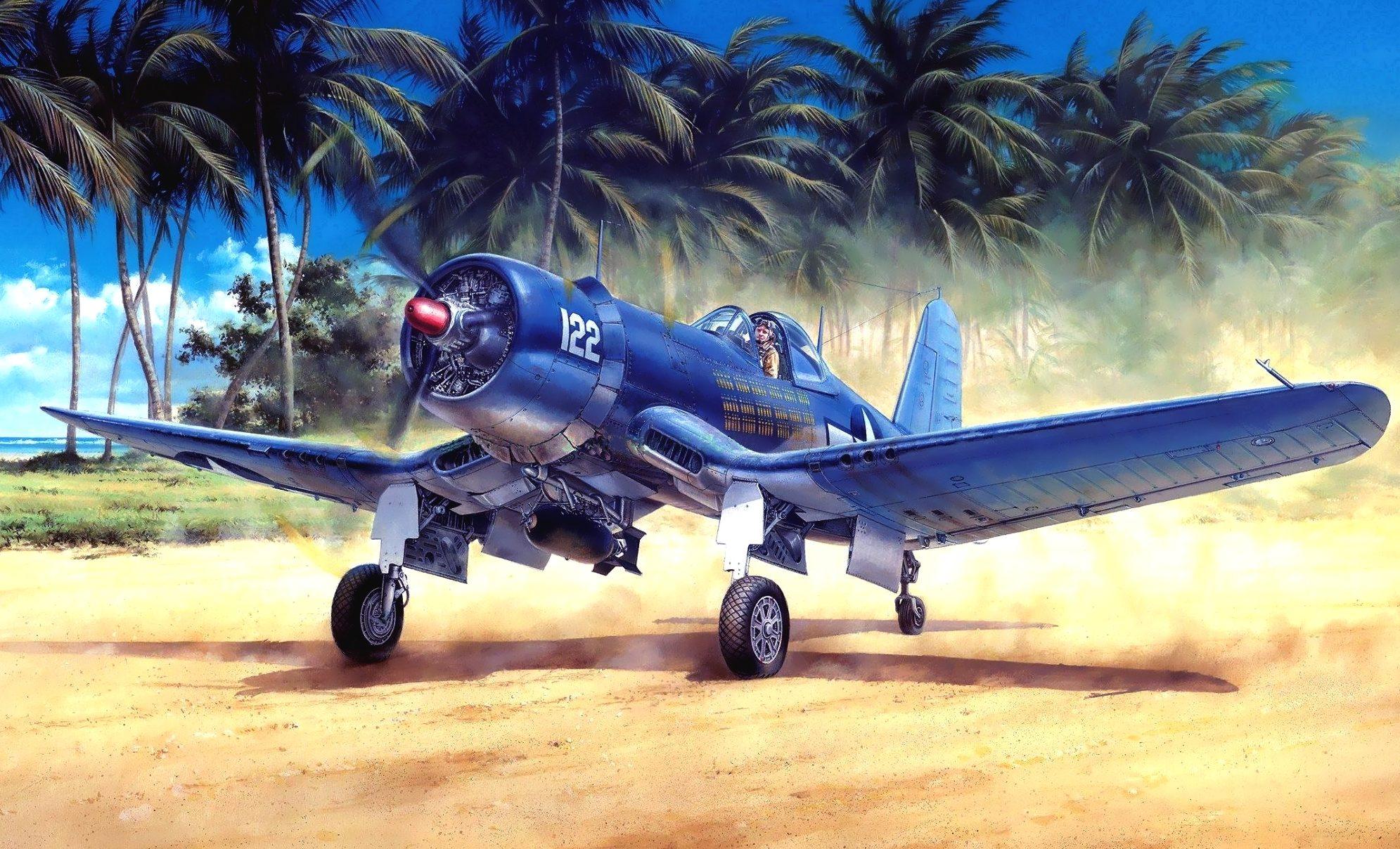 Onishi Masami. Истребитель «Corsair».