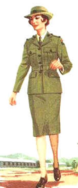Служащие Женской Армии.