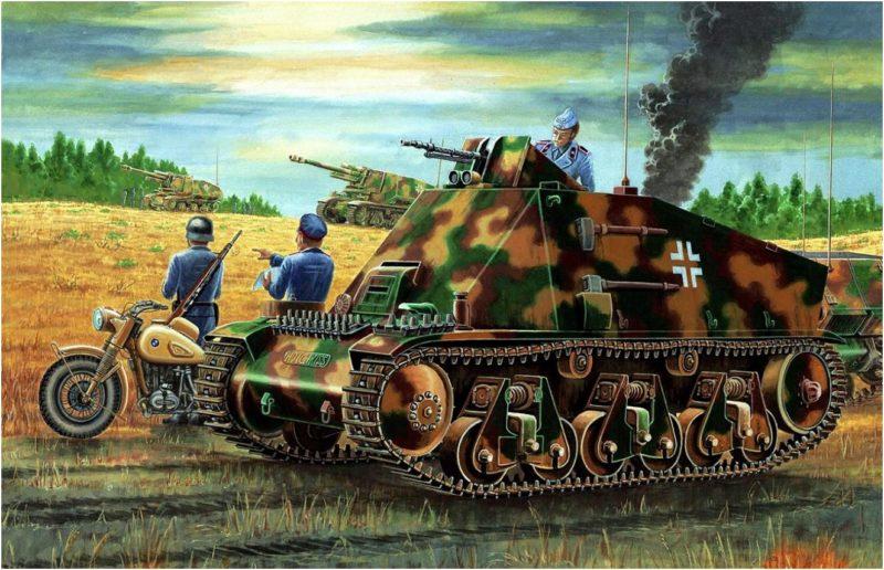 Wai Vincent. Танк Panzer 38H(f).