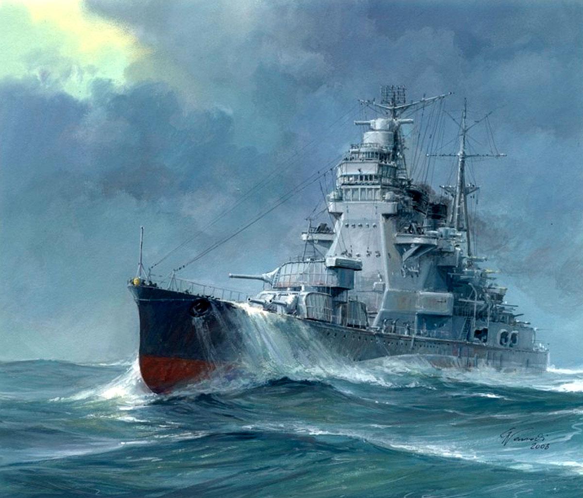 Takeshi Yuki. Крейсер «Takao».