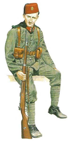 Пехотинец.