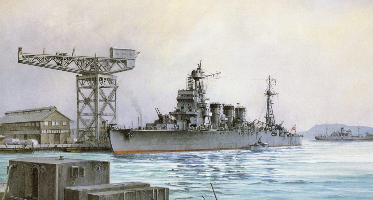 Takeshi Yuki. Легкий крейсер «Isuzu».