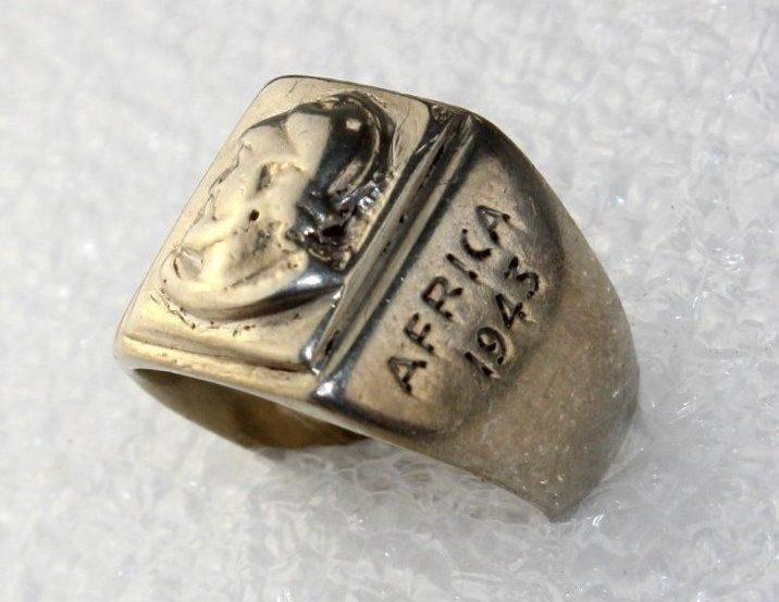 Памятное кольцо о высадке десанта в Касабланке в 1943 г.