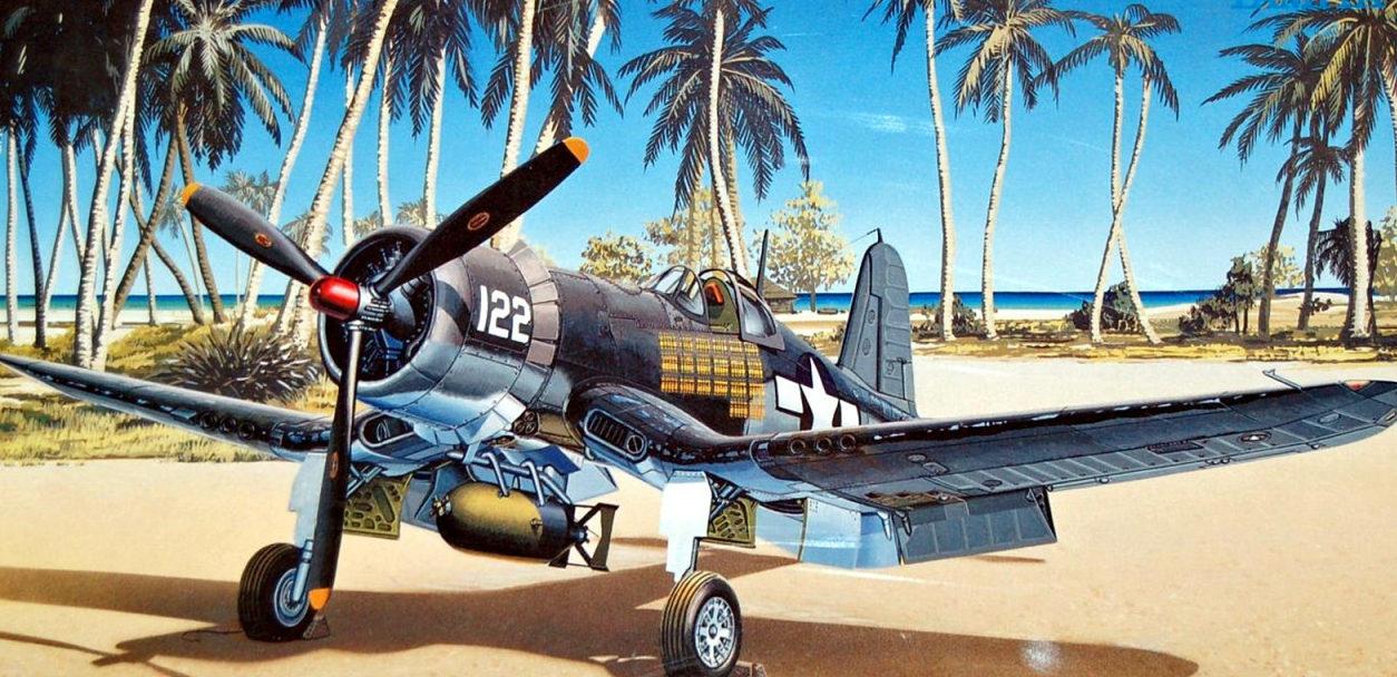 Shigeo Koike. Истребитель F4U-1A «Corsair».