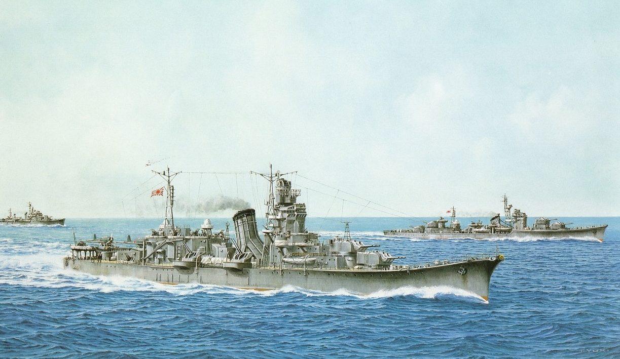 Takeshi Yuki. Легкий крейсер «Oyodo».