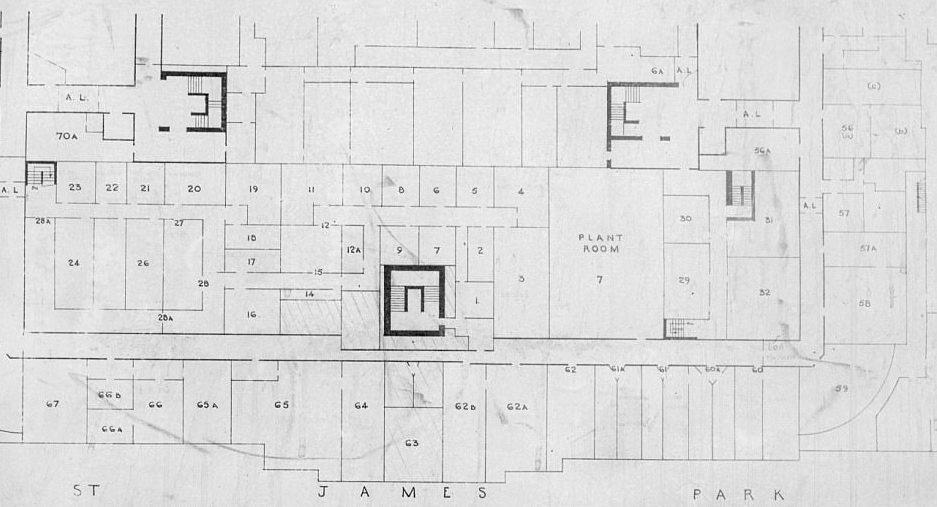 План части бункера.