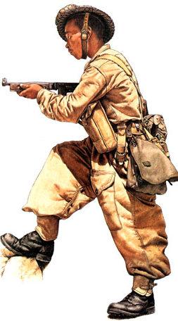 Пехотинцы.