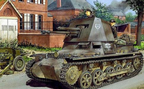 Volstad Ronald. САУ Panzerjäger I.