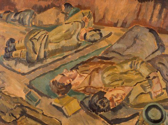 Hutchison. Спящие солдаты.