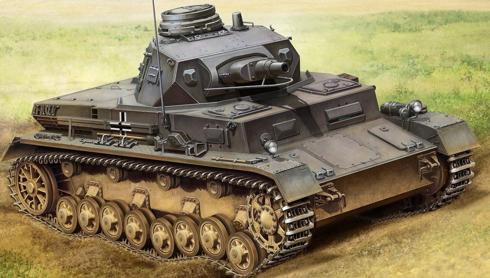 Asano Yuji. Танк Panzer IV Ausf. B.