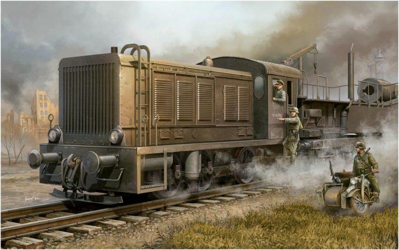 Wai Vincent. Дизель-электрический локомотив WR 360 C12.