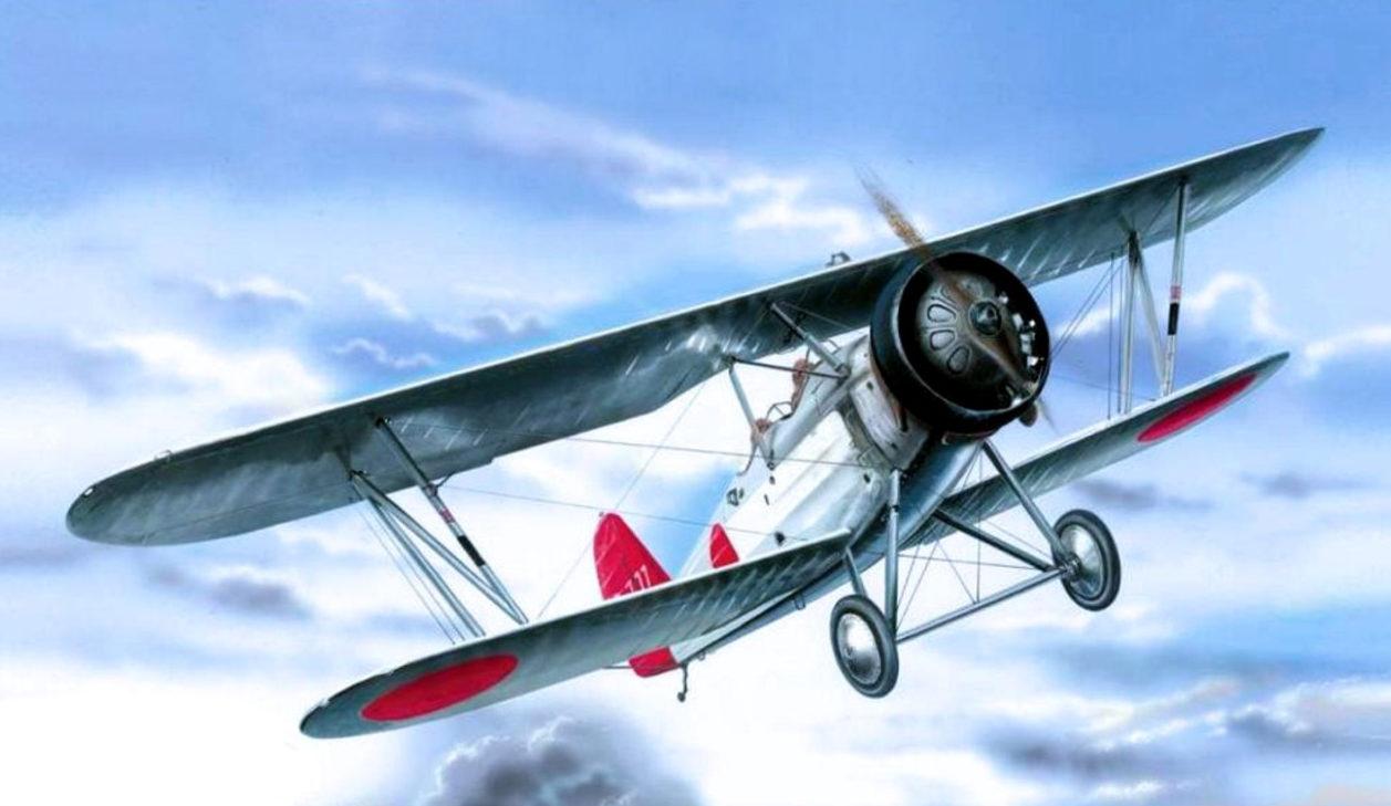Machácek Zdenek. Истребитель Yokosuka K-5Y1.
