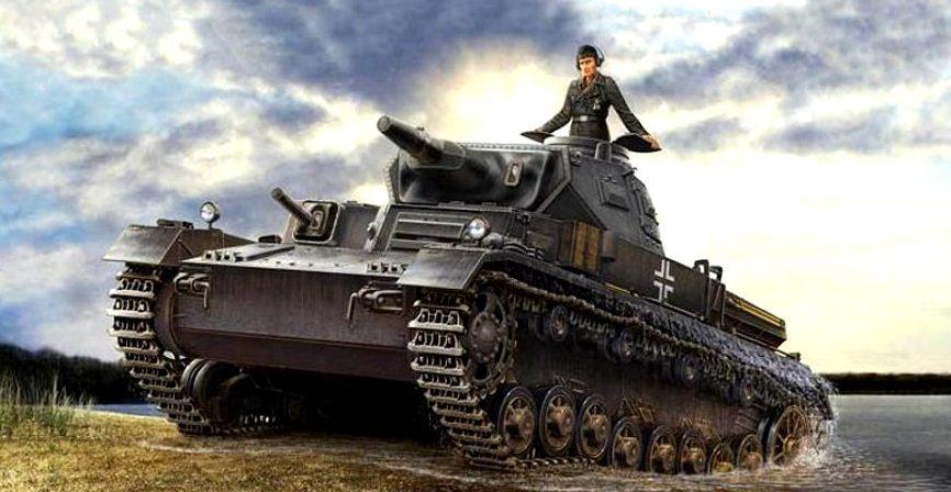 Asano Yuji. Танк Panzer IV Ausf. D.