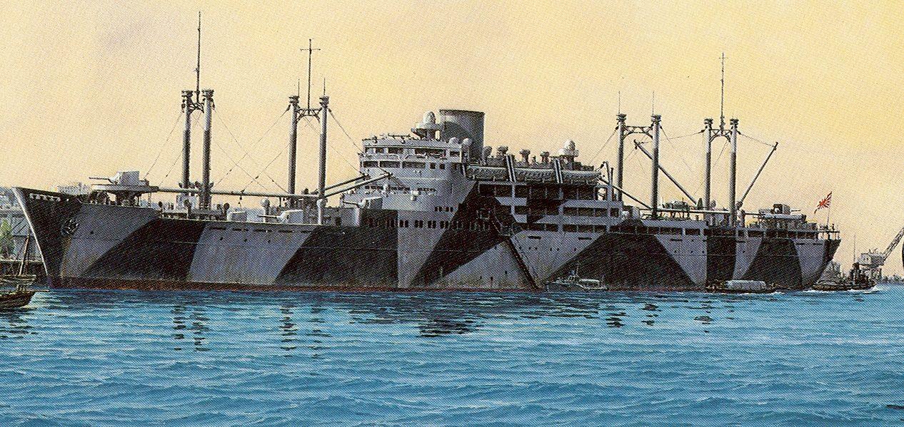 Takeshi Yuki. Вспомогательный крейсер «Akagi Maru».