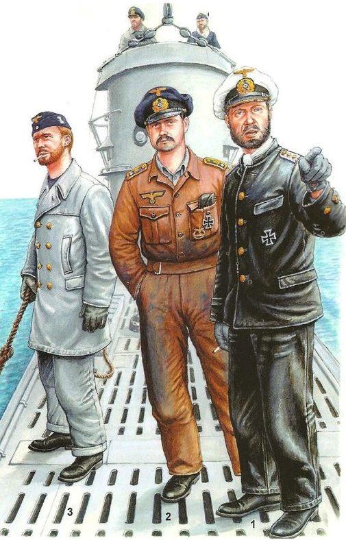 Подводники.