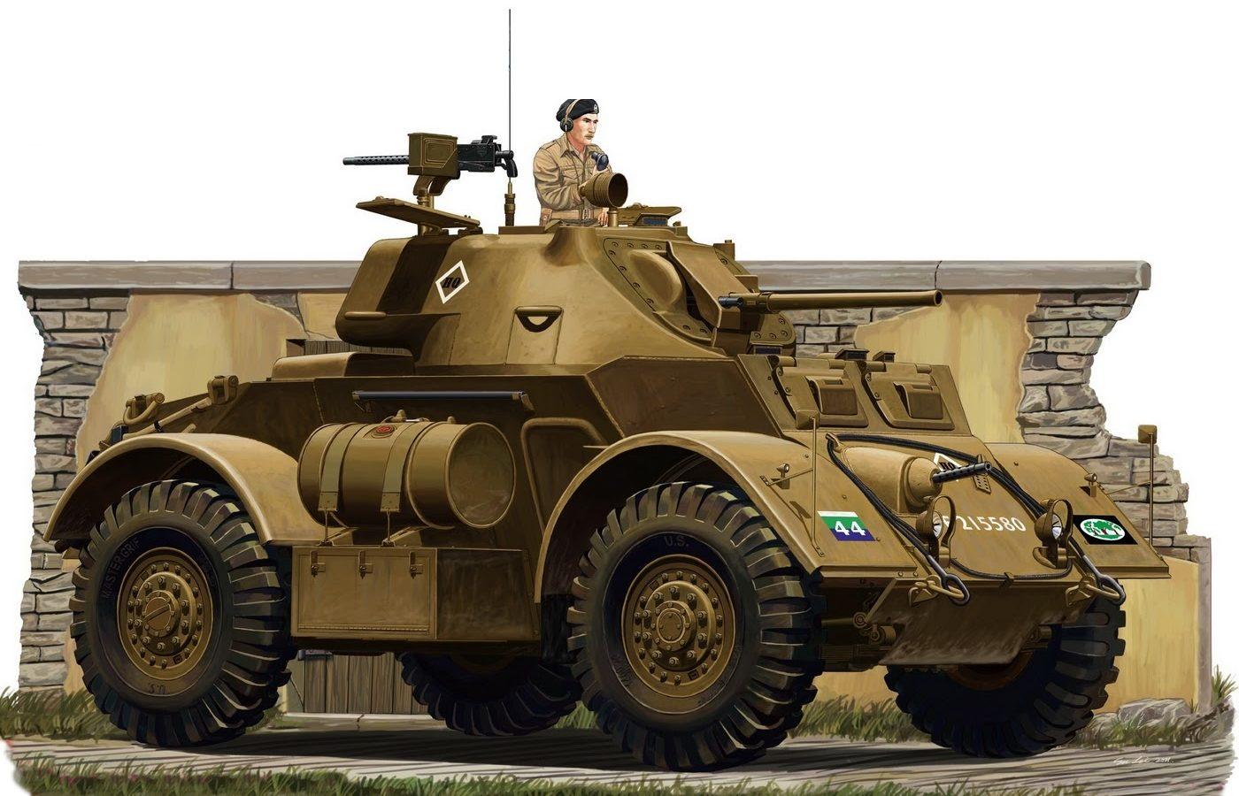 Lei Su. Бронеавтомобиль Staghound Mk.I.
