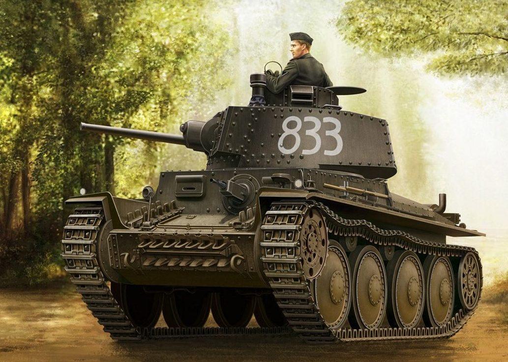 Asano Yuji. Танк Panzer 38(t) Ausf. G.