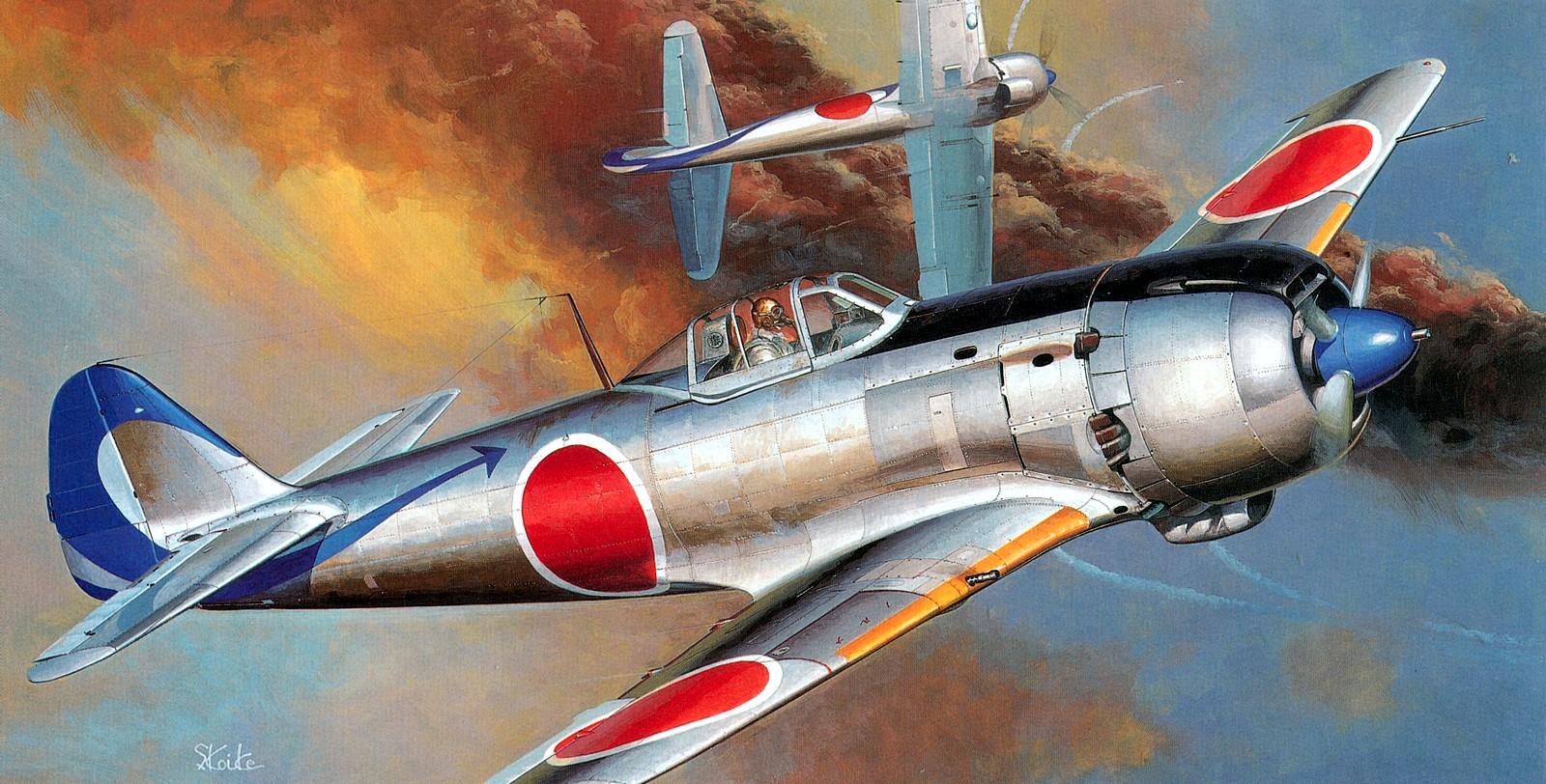 Shigeo Koike. Истребитель Kawasaki Ki-61.