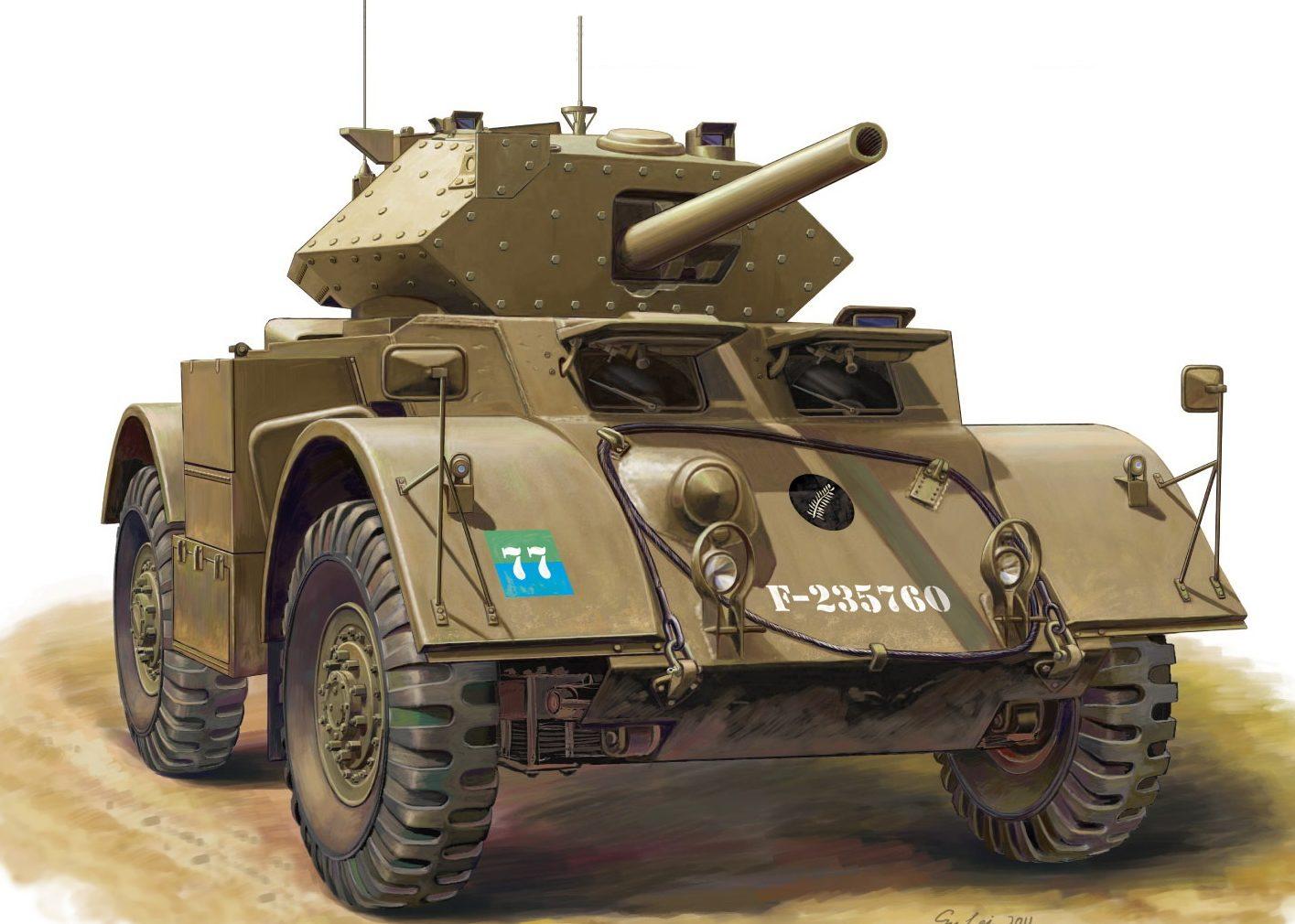 Lei Su. Бронеавтомобиль Staghound Mk.III.