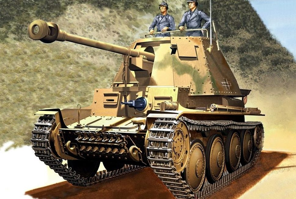 Asano Yuji. САУ Marder III Ausf. H.